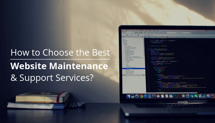 How to Choose the Best Website Maintenance and Support Services?